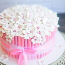 №72 Торт Ромашки