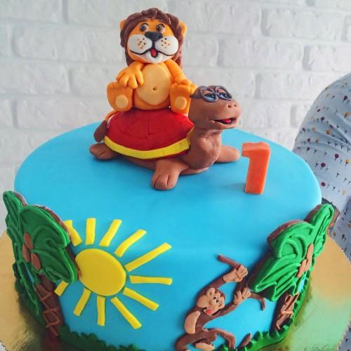 №146 Торт Львенок и черепаха
