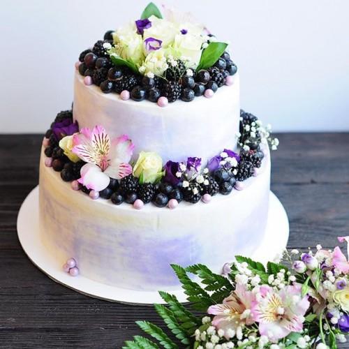 №57 Торт с цветами
