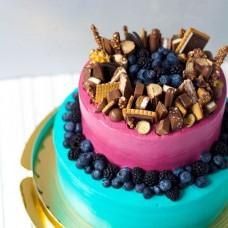 №58 Торт разноцветный