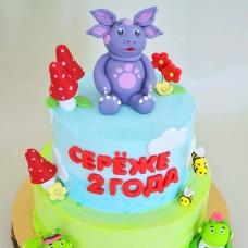 №232 Торт Лунтик