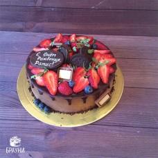 №345 Шоколадный торт