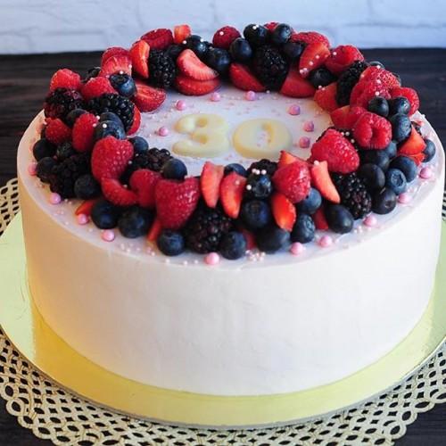 №64 Торт с ягодами