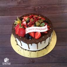 №346 Торт с ягодами