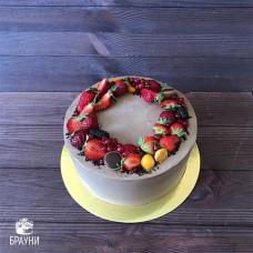 №343 Торт с кремом чиз