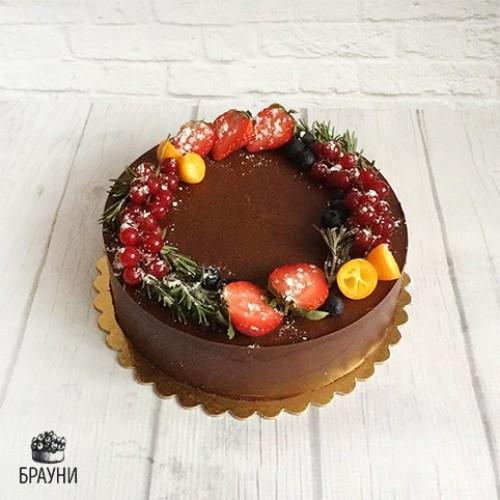 №268 Шоколадный торт