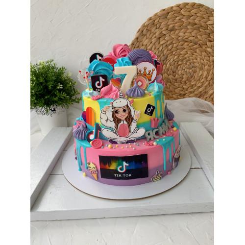 торт для девочки №1