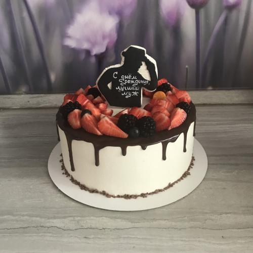 Торт мужу