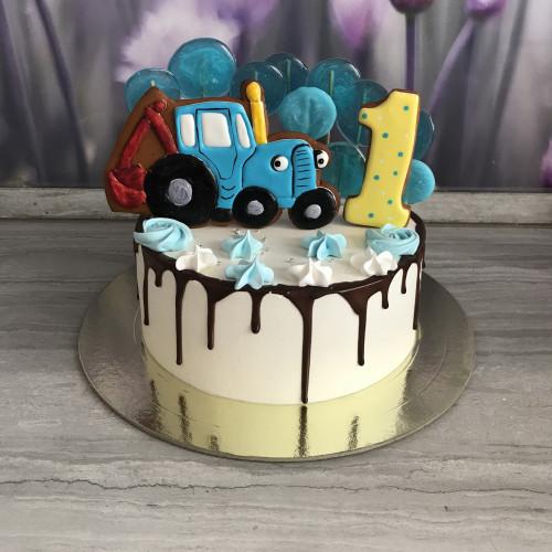 Торт трактор Том