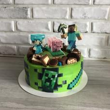 Торт Майнкрафт 2