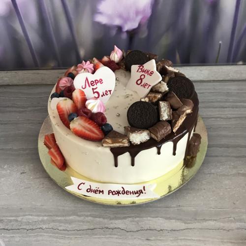 Торт на два праздника